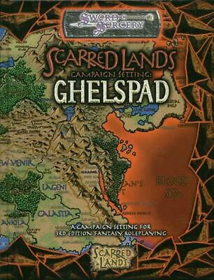 Sword & Sorcery Scarred Lands d20 Ghelspad - Campaign Setting HC NM