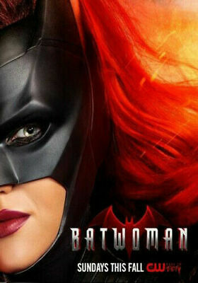 Batwoman New CW DC Comics Ruby Rose 2019 TV Series Art 21 24x36 Silk Poster K100