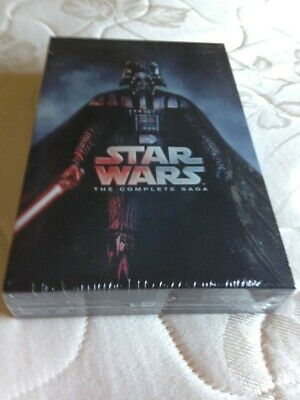 Star Wars: Complete Saga episodes 1-6 Movie Box Set DVD