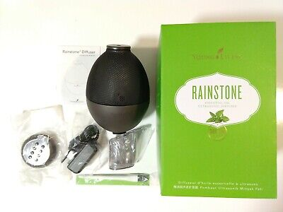 Young Living Essential Oils Rainstone Ultrasonic Diffuser CLEAN