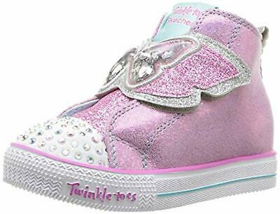 Skechers Kids Girls' Shuffle LITE-Flutter FLOATIES Sneaker 11 Medium US Little