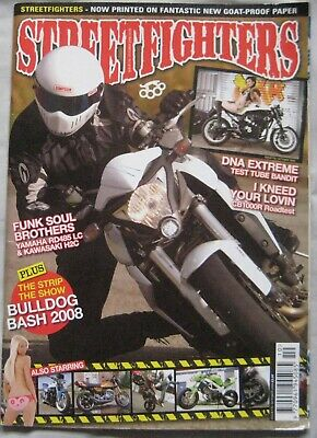 Streetfighters magazine October 2008 Issue 176