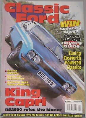 Classic Ford magazine October 1998