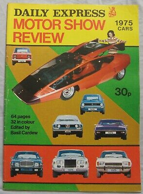 1975 Daily Express Motor Show review