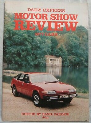 1977 Daily Express Motor Show review