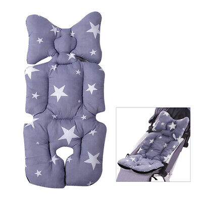 Soft Baby Kid Stroller Pram Pushchair Car Seat Liner Pad Mat Cushion Washable