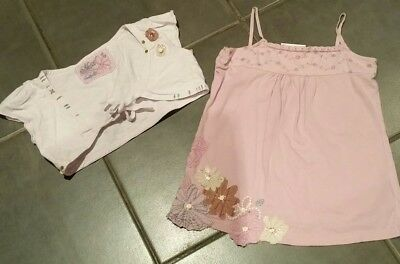 Lovely girls Next two piece top set age 6