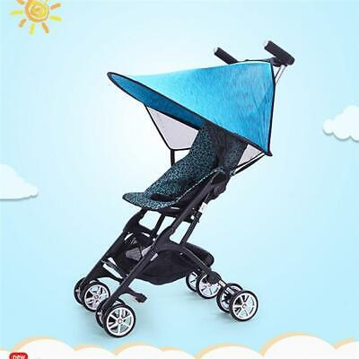 Baby Stroller Pushchair Net Sun Shade Buggy Wind Shield Cover Protector CH