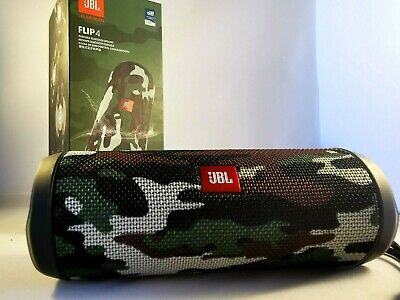 JBL Flip 4 Portable Waterproof Wireless Bluetooth Stereo Speaker - Camouflage