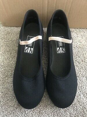 Freed Black RAD Character Shoes Size 2.5