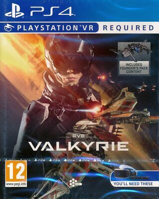 Eve Valkyrie VR Game for Sony PlayStation 4 PS4 PSVR NEW & SEALED
