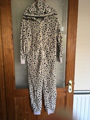 Childrens Next Dalmation Fleece All In One Age 7 Years