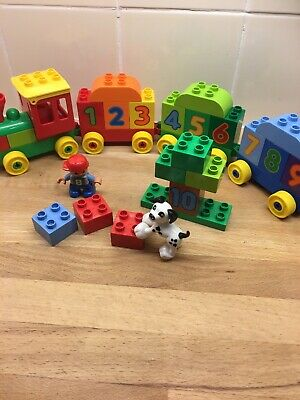 Duplo My First Numbers Train Set 10847 Complete Used