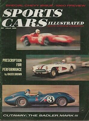 Sports Cars Illustrated Magazine March 1959