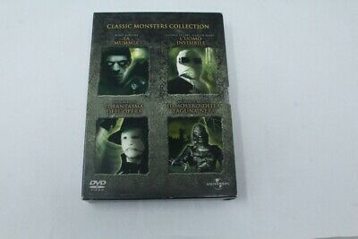 Dvd  Classic Monsters Collection Universal  2004 [Et3-026]