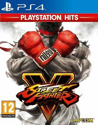 Street Fighter V PS4 - BRAND NEW & SEALED PS4 Hits Game for Sony PlayStation 4