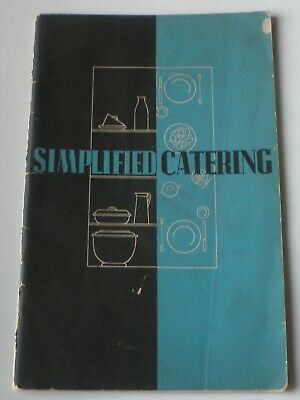 """ELECTROLUX ~ """" SIMPLIFIED CATERING"""" c.1940"""