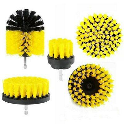 5pcs Cleaning Drill Brush Cleaner Combo Tool Electric Drill Power Scrubber head