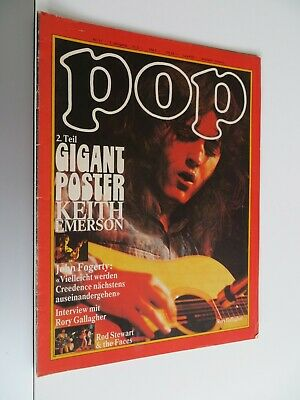 Pop 11/1972 , Musik Magazin, Frank Zappa, CCR, Rory Gallagher