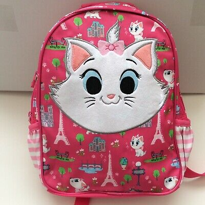 Disney Authentic Aristocats Marie Cat Mini Backpack Kids Girls NWT