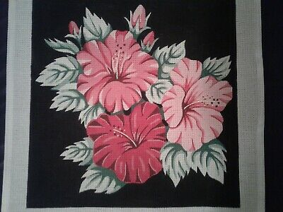 Hand Painted Needlepoint Canvas by Alice Peterson Co. 14 stitch, 1465