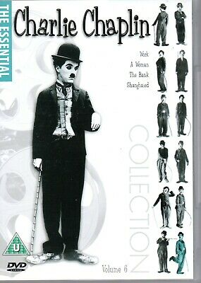 Charlie Chaplin Collection Vol 6 DVD Work, A Women, The Bank, Shanghaied Classic