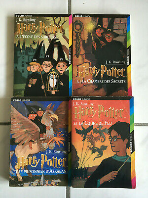 Harry Potter Lot 7 Tomes Livres Collection Complete Petit