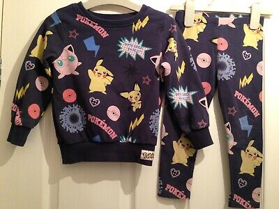 Girls Next Pokemon Outfit Aged 2-3 Years