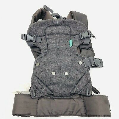Infantino Flip Advanced 4-in-1 Convertible Carrier Gray Free priority shipping!