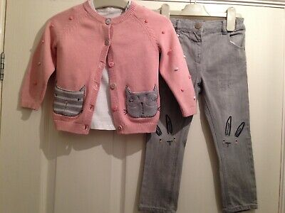 Girls Next Cute Outfit Aged 2-3 Years