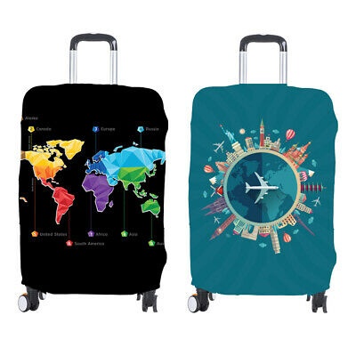 Thickened Luggage Cover Soft Practical Protective Anti Dust Washable Elastic