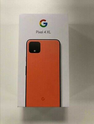 Google Pixel 4 XL 64GB / Unlocked - Sealed / Limited Edition 'Oh So Orange'