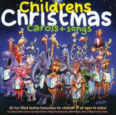 Childrens Christmas Carols + Songs, Various Artists, Good CD