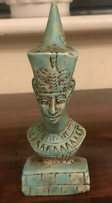 EXTREMELY RARE ANCIENT EGYPTIAN AMENHOTEP I HEAD STATUE 1539-1292 Bc V.G.C..