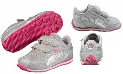 PUMA WHIRLWIND GLITZ Toddler Sneaker Shoes US Size 8C, 9C
