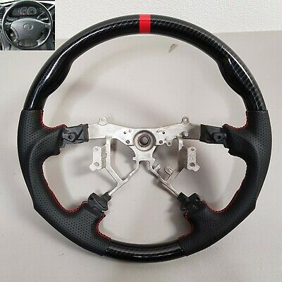 Sports Leather Steering Wheel for 2005-2011 Toyota Tacoma 04-07 Highlander