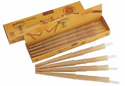 40 X 110mm Pre-Rolled Cones Rolling Paper Classic Cones AUTHENTIC HORNET 1 Pack
