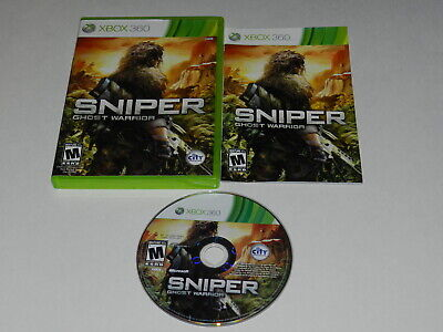 Sniper Ghost Warrior Microsoft Xbox 360 Video Game Complete
