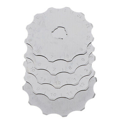 5x Rotary Replacement Blade, 45mm Crochet Edge Skip Cutter Blades for Sewing