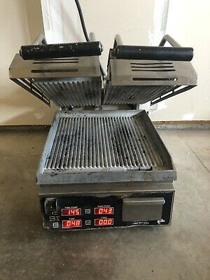 Star Mfg. Split Top Two Sided Panini Grill....free Shippiing
