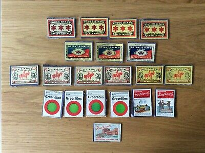 Vintage Matchbox Labels - Made in Australia, QLD Centenary Year + more