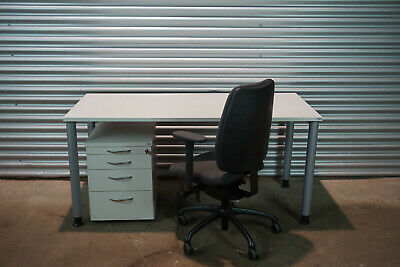 Mex Office Furniture Desk Container Swivel Chair Löffler 2051 Furnishing