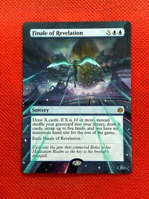 Finale of Revelation MTG Magic War of the Spark Hand Painted Altered Art <(((-<