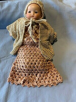 Antique Armand Marseille German Bisque doll -8inches,  (200mm)
