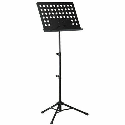 Sheet Music Stand with Height Pole Angle Adjustment 50 x 35 x 4CM Plate Free Bag