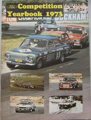 AUTOSPORT magazine Ford Competition Yearbook 1973