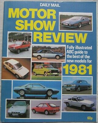 1981 Daily Mail Motor Show Review