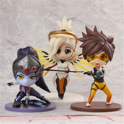 OW Over Watch Trace Widowmaker Amélie Lacroix Clay Action Figure Collection Gift