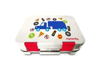 My Family Easy Clean Kids Bento Lunchbox (Traffic) Free Shipping!