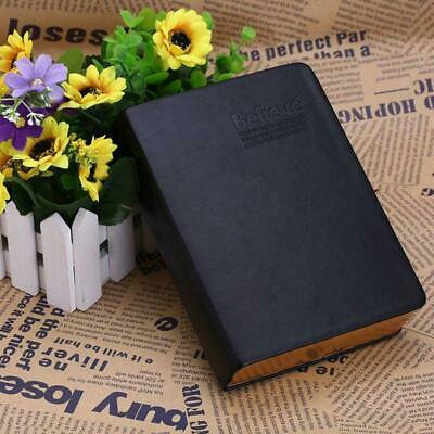 Vintage Classic Notebook Diary Journal Sketchbook Blank Page Thick Leather Cover
